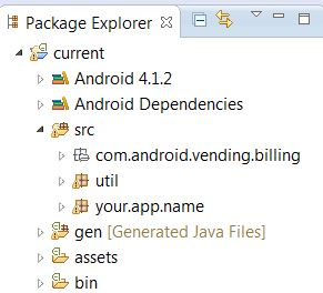 Folder Structure in Eclipse